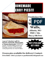 2013 Cherry Pie Flyer