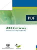 UNIDO Policies for supporting Green Industry