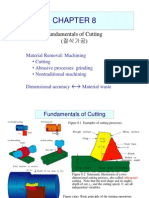 Fundamentals of Cutting - Manufacturing