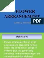 flower arrangement presentation