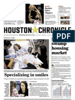 Houston Chronicle front page, 2013-01-16