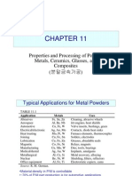 Properties and Processing of Powder Metals, Ceramics, Glasses, and Composites
