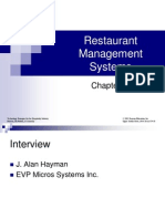 Restaurant Management Systems