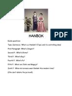 Hanbok Journal