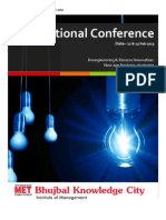 National Conference - MET Bhujbal Knowledge City IOM
