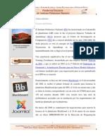 Breve resumen de plataformas educativas empleadas en el IPN