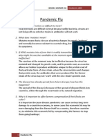 Pandemic Flu Exercise