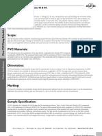 especificacion CPVC