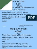 Evolutive Waves