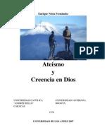0 Ateismo y Creencia en Dios