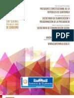 Informe Gobierno 2012-2013