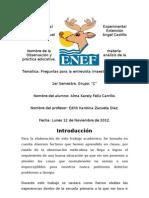 2.- Observacion de La Escuela Josefa Ortiz de Dominguez.