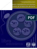 Manejo Reproductivo en bovinos en sistemas de produccion de leche UNAM