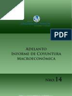 Adelanto Informe de Coyuntura Macroeconómica N° 14. Enero 2013