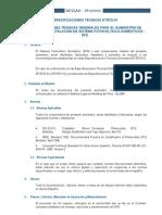 Especificaciones Tecnicas_Suministro de paneles fotovoltaicos