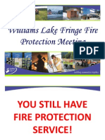 Powerpoint presentation - CRD Rural Fringe Fire Protection...
