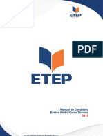 Manual ETEP para Ensino  Médio