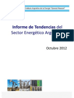 Informe de tendencias del sector energetico argentino