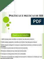 politicas e praticas de rh