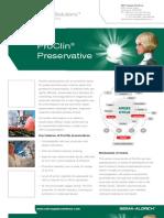 SAFC Supply Solutions - ProClin® Preservative
