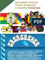 diseño curricular base 2011