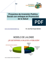 4. proyectos sociales