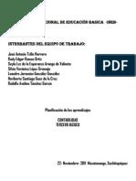 Contabilidad General. área Productividad y Desarrollo Tercero Básico