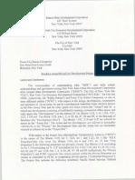 Atlantic Yards Memorandum of Understanding, Feb. 18, 2005
