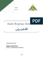 Arabic keyphrase Extraction