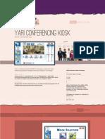 Yari Conferencing kiosk