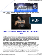 Chandra Levy the TRUTH & other US Corruption
