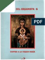 Libro del Organista Cantos a la Virgen
