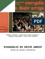 evangelio es decir amigo, varios autores