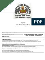 planificación anual de segundo primaria 2013
