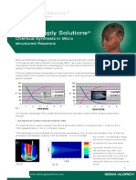 SAFC Supply Solutions - Chemical Synthesis in Micro structured Reactors