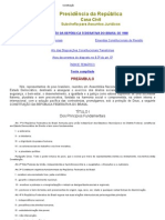 Constituição Brasileira