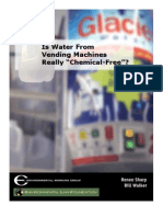 """Is Water From Vending Machines Really """"Chemical-Free""""?"""