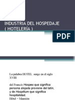 estructura hotelera