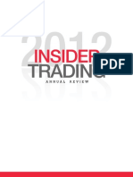 2012 Insider Trading Review