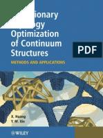 Evolutionary topology optimization