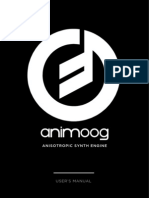 Animoog Manual