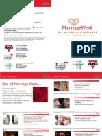 Marriage Week 2013