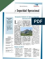 Boletín de Seguridad Operacional