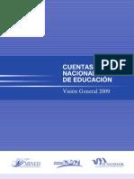 Cuentas nacionales de educación