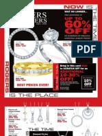 Rogers Jewelers February 2009 Clearance Catalog