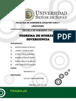 TEOREMA DE STOKES Y DIVERGENCIA