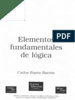 Elementos fundamentales de lógica, Cap 2
