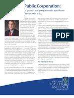 OHSU Public Corporation Report