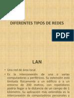 Los diferentes tipos de redes