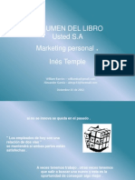 Usted S.A. Marketing personal